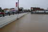 Northwest corner of Main St. bridge, at ~14ft